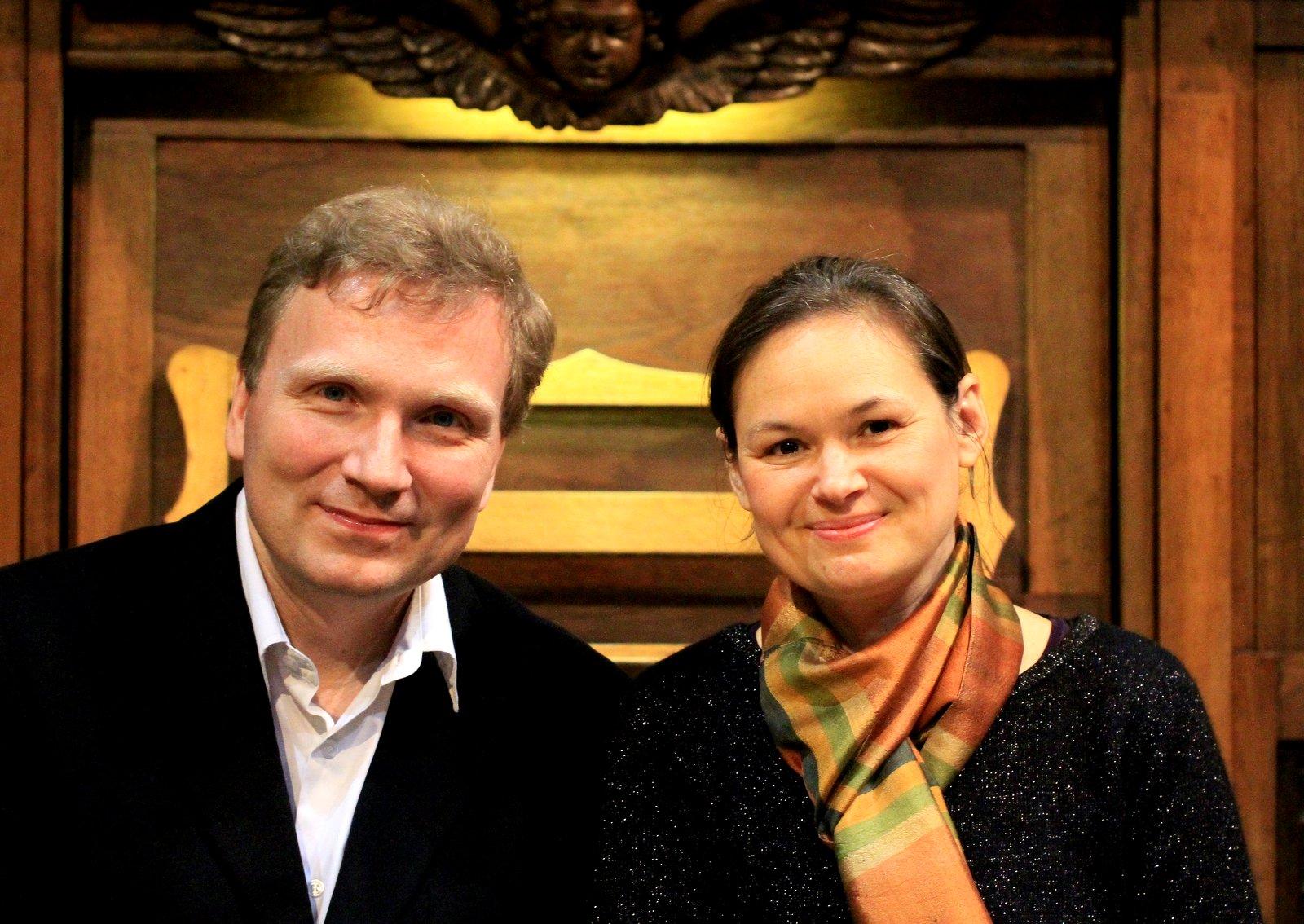 Une belle complicité entre Eric Lebrun et Marie-Ange Lebrun